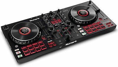 Numark Mixtrack Platinum FX DJ Controller For Serato DJ With 4 Deck Control, New • 224.99£
