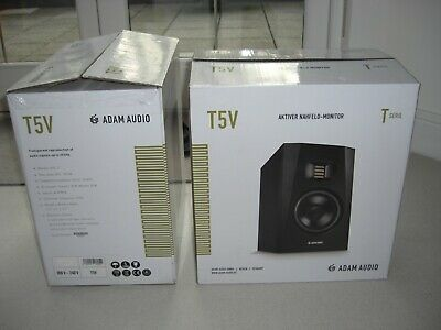 Adam Audio T5V 5  Active Studio Monitor For Small To Medium Sized Rooms. • 115£