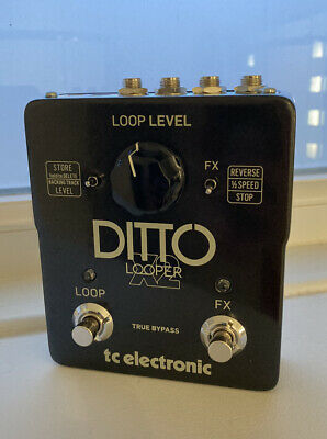 TC Electronic Ditto X2 Stereo Looper Loop Pedal With Box • 44£