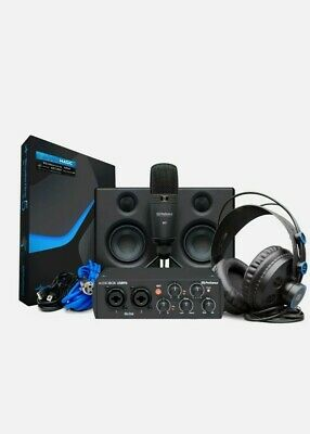 PreSonus AudioBox USB 96 Studio Ultimate Bundle - 25th Anniversary Black • 213.46£