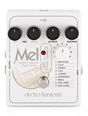 Electro Harmonix MEL9 Tape Replay Machine Pedal • 250£