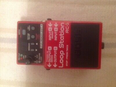 BOSS RC-3 Loop Station Pedal  VGC, GWO, The Industry Standard • 85£