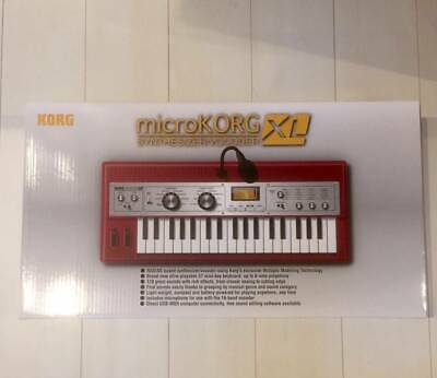 KORG MicroKORG XL 2009 Limited Edition Red W/Box Excellent Japab F/S • 560.70£