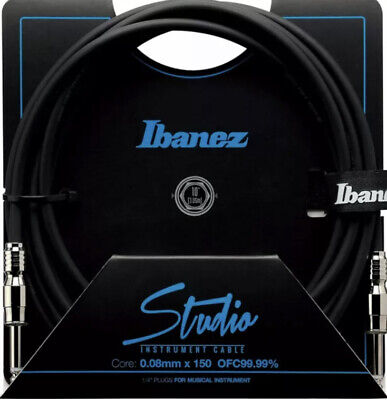 USED Ibanez HF10 HF Hundred Fifty Studio Guitar Cable (made In Japan) • 19£