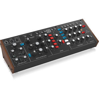Behringer Model D (Monophonic Analogue Synthesizer) • 332£