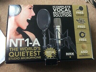 Rode NT 1-A  Complete Vocal Recording Solution  In Good Condition • 145£
