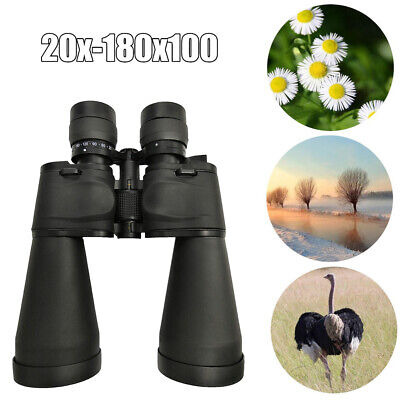20-180X100 Binoculars High Times Scope Zoom Telescope For Bird Watching UK S0F6 • 23.88£