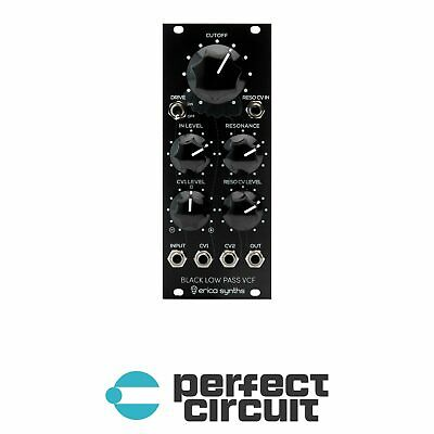 Erica Synths Black Low Pass VCF Modular EURORACK - NEW - PERFECT CIRCUIT