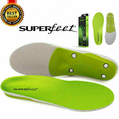Superfeet Green Original Insoles B, C, D, E, F, G  Various Sizes &Comfort UK New • 15.90£