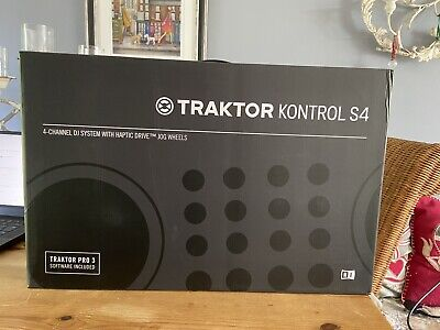 Native Instruments Traktor Kontrol S4 Mk3 Cover/protector And Box-Barely Used • 500£