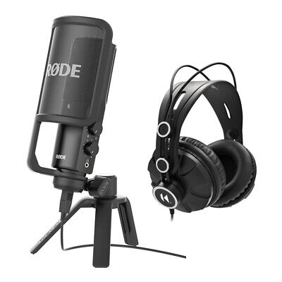 Rode NT-USB USB Condenser Microphone With TH-03 Headphone Bundle • 136.52£