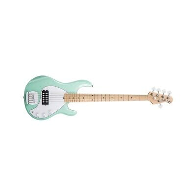 Sterling By Music Man Stingray Ray5 5 Mint Green Chitarre Basso 4 Corde