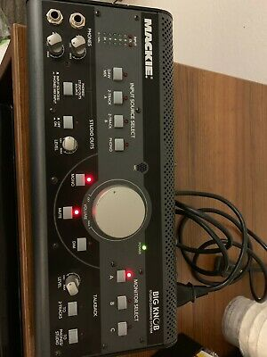 MACKIE Big Knob Studio Monitor Controller And Command System Nice Shape!! • 125.86£