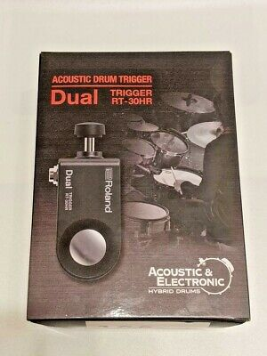 Roland RT-30H Acoustic Drum Trigger Dual For Snare Drum • 131.42£