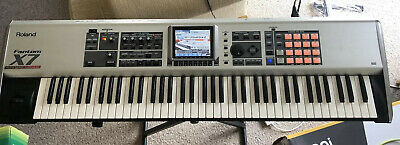 Roland Fantom X7 Synthesizer Workstation With Audio Track Expansion - X6 X8 Juno • 695£