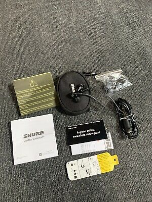 Shure SE315 Sound Isolating Earphones W/ Extras And Free Shipping • 100.12£