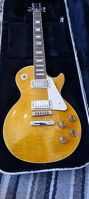 Gibson Les Paul Standard 2015 100th Anniversary In Trans Amber Mint Condition