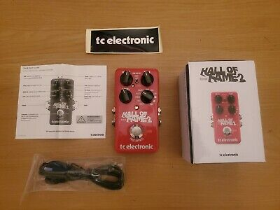 Tc electronic hall of fame Reverd Pedal