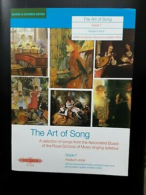 The Art of Song Grade 7 Medium voice *NEW* Publisher Peters EP71769
