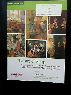 The Art of Song Grade 6 Medium voice *NEW* Publisher Peters EP71766
