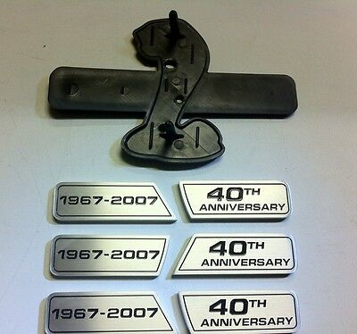 40th Anniversary Grille And Fender Wing Emblem Kit For Your Mustang Shelby GT500 • 168.49£