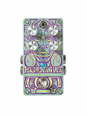 DigiTech Polara Stereo Reverb Pedal. U.S. Authorized Dealer • 832.09£