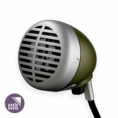 Shure 520DX Green Bullet Classic Harmonica Microphone • 120.95£