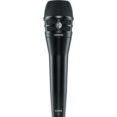 Shure KSM8 Black Dualdyne Vocal Microphone, New! • 380.65£