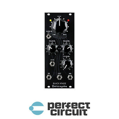 Erica Synths Black XFade Crossfader EURORACK - NEW - PERFECT CIRCUIT