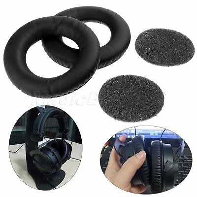 Black Foam Cushion Earpads For Beyerdynamic DT880 DT860 DT990 DT770 Headphones • 7.48£