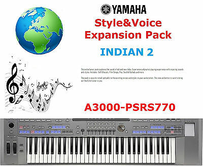 Yamaha PSR A3000/S770 INDIAN 2 Expansion Pack • 5£