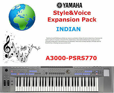 Yamaha PSR A3000/S770 INDIAN Expansion Pack • 5£