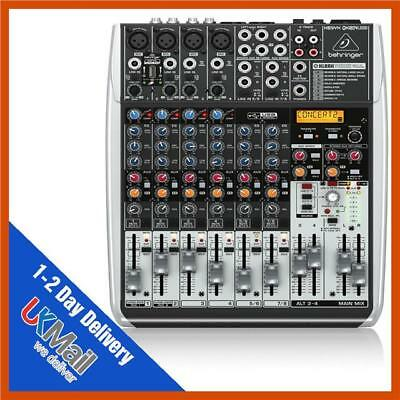 Behringer Xenyx QX1204USB Studio / Live Mixer USB Analog Mixing Desk + Effects • 199.99£