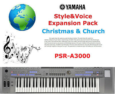 Yamaha PSR A3000 Christmas & Church Expansion Pack • 5£