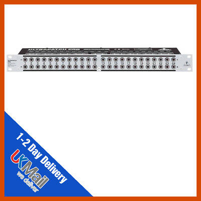 Behringer PX3000 Ultrapatch Pro Panel • 83.50£