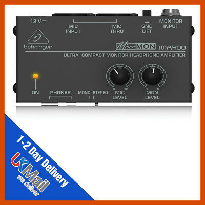 Behringer MA400 Monitor Headphone Amplifier • 25.99£