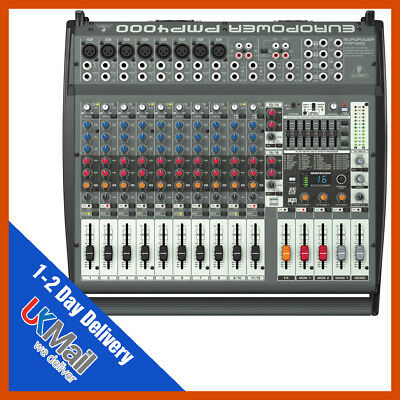 Behringer Europower PMP4000 Flatbed Mixer Amplifier Mixing Desk • 468£