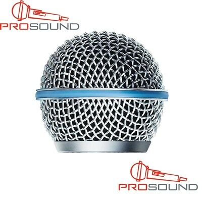 Replacement Shure BETA58 BETA58A SM58 Ball Head Mesh Microphone Grille • 7.35£