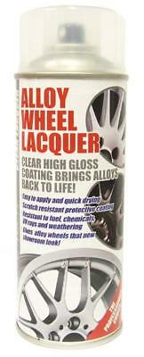 CLEAR LACQUER Alloy Wheel Restoration Spray Paint 400ml Motorbike (CL1) • 14.90£
