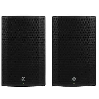 2 X Mackie Thump15A V4 Active Lightweight DJ PA Speaker 15  1300w - 2017 Model! • 630£