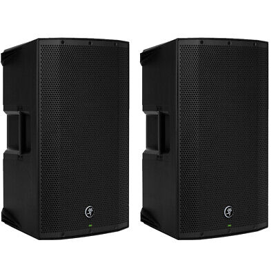 2 X Mackie Thump12A V4 Active Lightweight DJ PA Speaker 12  1300w - 2017 Model! • 598£
