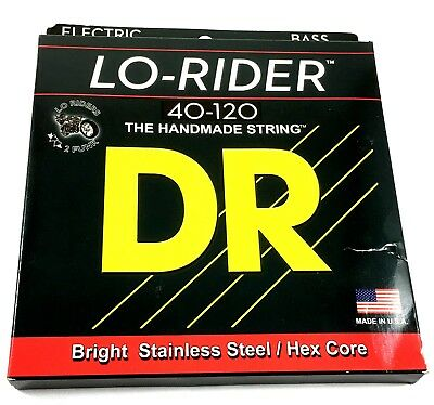 DR Bass Strings Lo-Rider (Low Rider) LH5-40 5-String Bass Strings 40-120