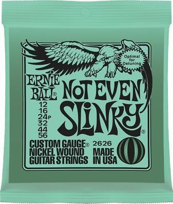 3x Sets Snot Even Slinky 2626 Ernie Ball Electric Guitar Strings Set 12-56  • 29.38£
