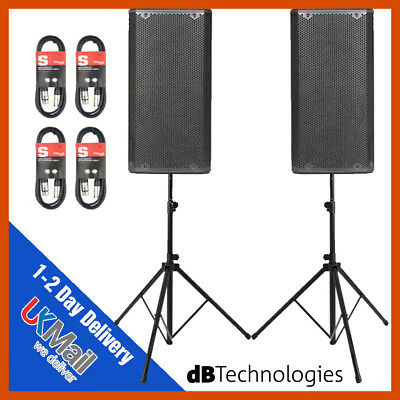 2 X Db Technologies Opera 10 Active 10  DJ Disco Live Stage PA Speaker Package • 699£