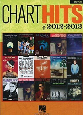Chart Hits Of 2012-2013: Easy Piano By Hal Leonard Publishing Corporation Book • 5.59£