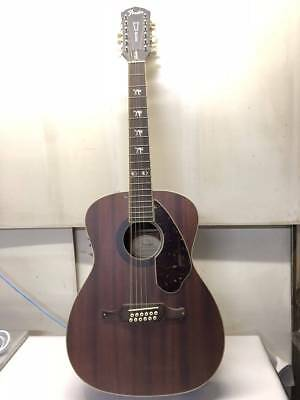 Fender Tim Armstrong Hellcat Acoustic 12 Beutiful JAPAN Rare Useful EMS F/S* • 913.92£