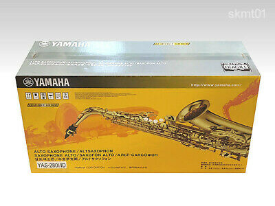 YAMAHA Alt Saxophone YAS-280 Entry Model For  From Japan DHL Or EMS Fast NEW   • 1,192.63£