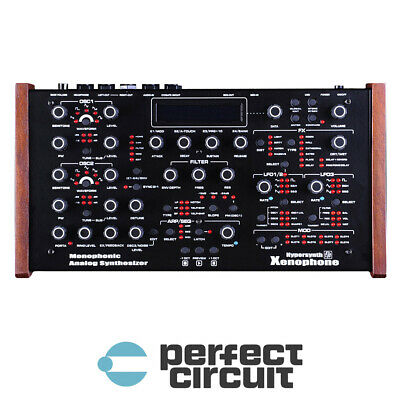 Hypersynth Xenophone Advanced Analog Mono SYNTHESIZER - NEW - PERFECT CIRCUIT • 750.21£