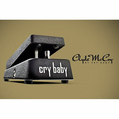 Jim Dunlop JD-CM95 Clyde McCoy Cry Baby Wah Wah Pedal CM95 - New • 216£