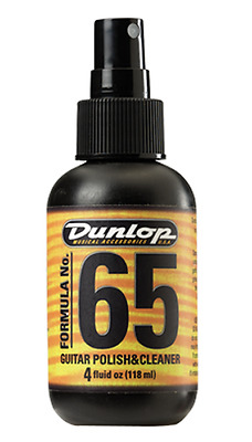 Jim Dunlop Formula 65 Clean And Polish 4oz JD-654 • 8.99£
